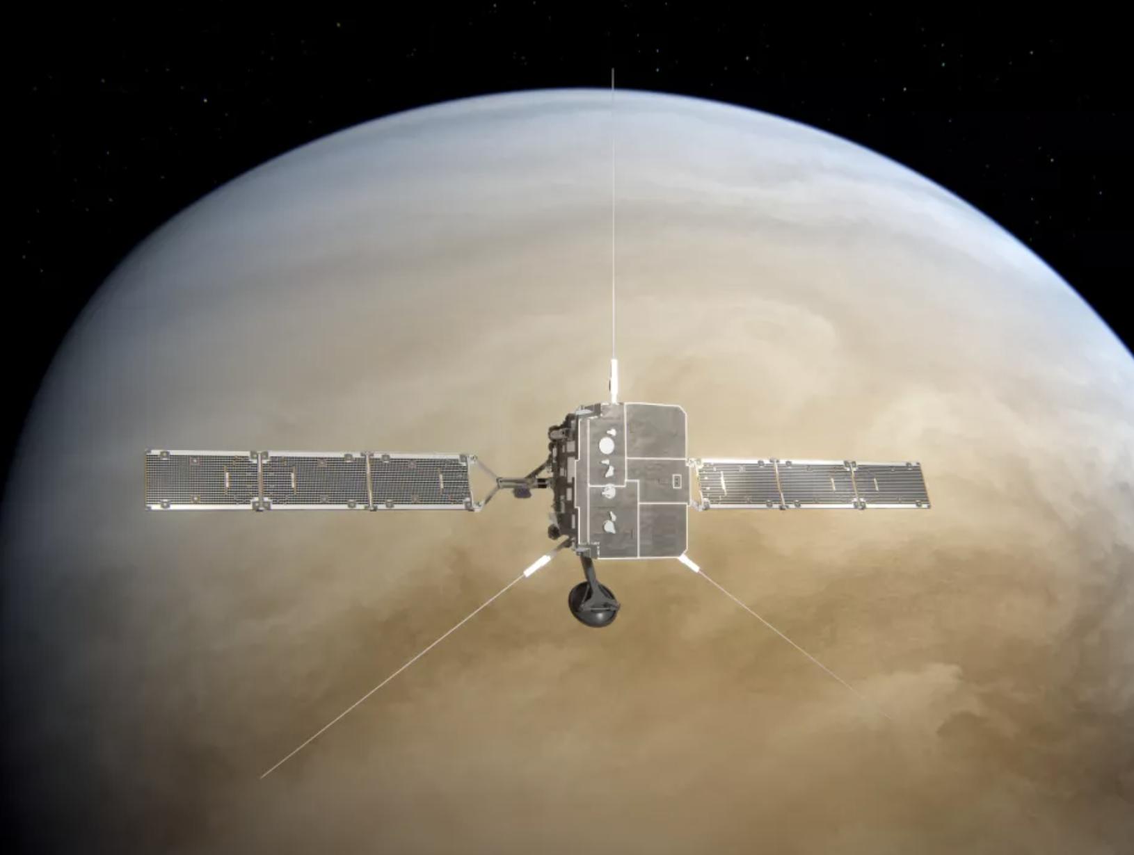 La sonda Solar Orbiter sobrevoló y capturó algunos datos de Venus