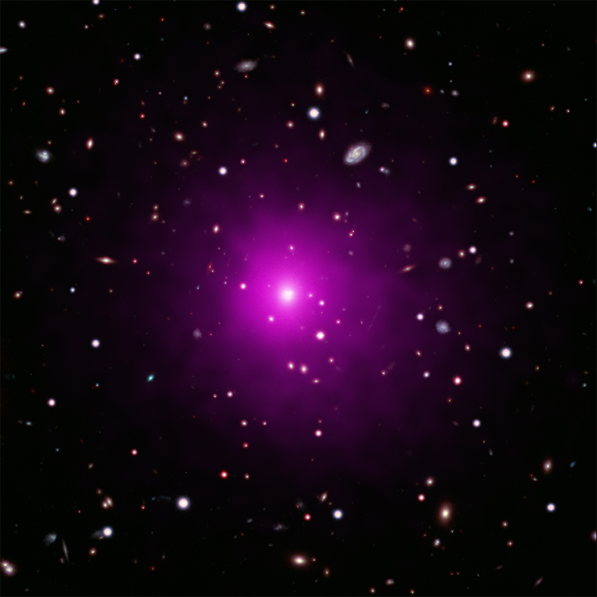 Un agujero negro supermasivo, que debería estar en el centro de una galaxia, no está