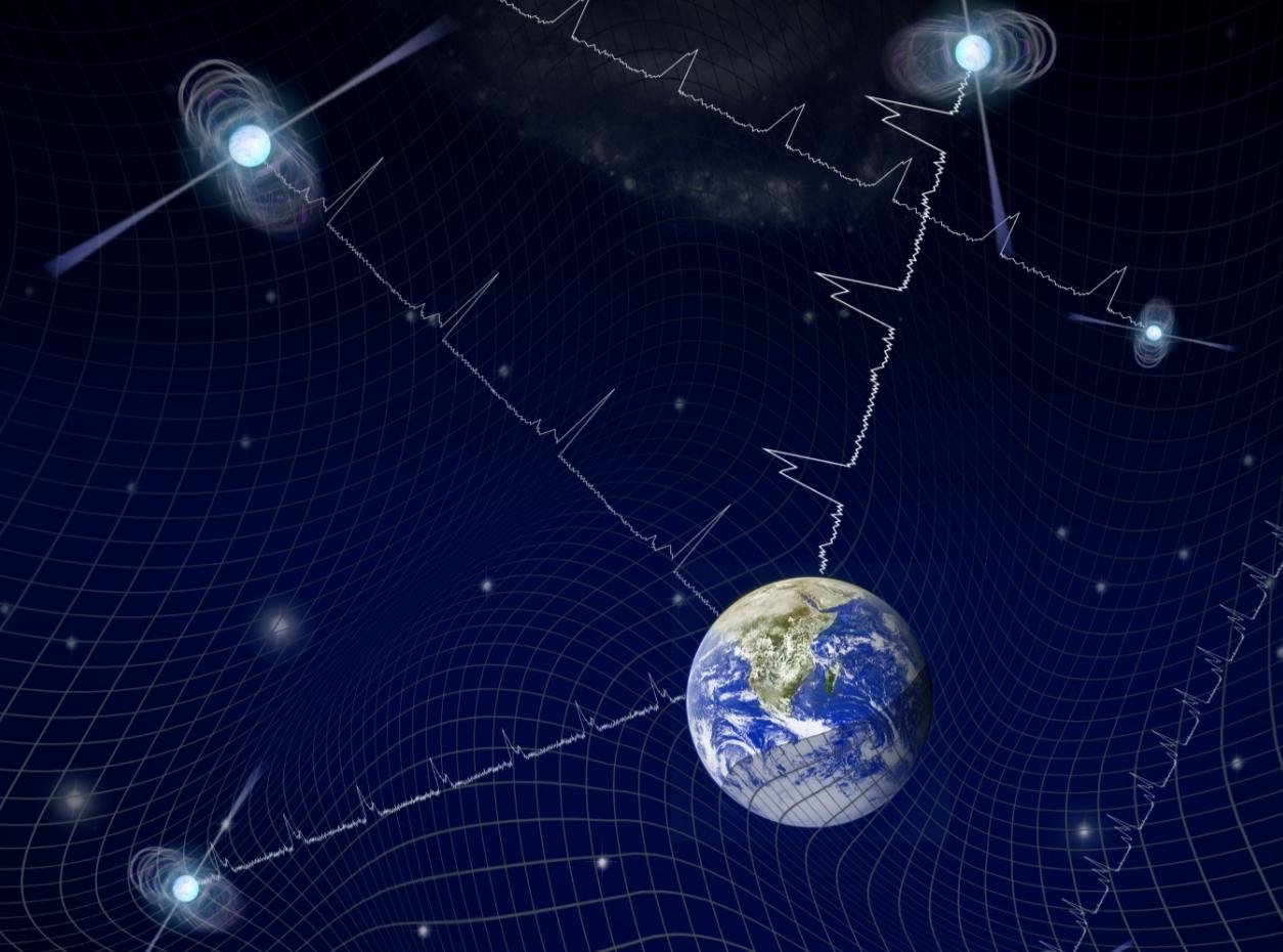 ¿Ruido gravitacional? Astrónomos habrían detectado el 'zumbido' de fondo del universo