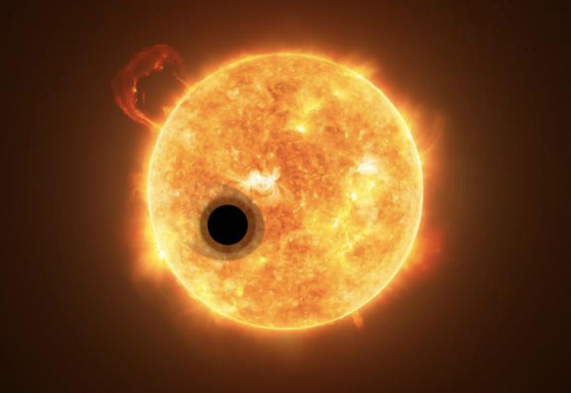 Un exoplaneta «superhinchado» desafía algunos de nuestros modelos de formación planetaria