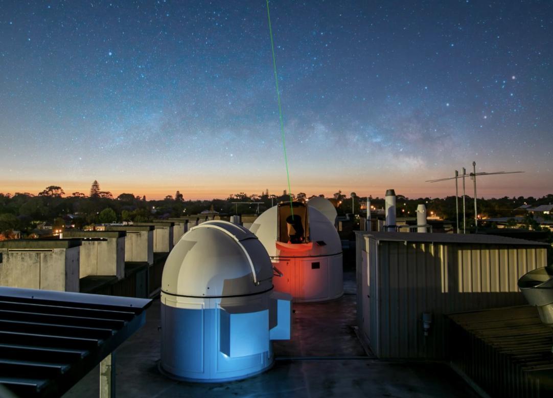 Récord mundial: esta señal láser puede atravesar la atmósfera como si no existiera