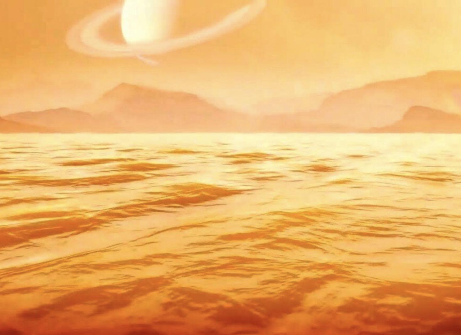 El mar más grande de Titán tiene más de 300 metros de profundidad