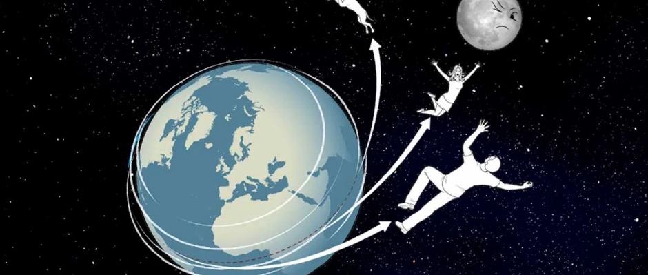 ¿Qué tan rápido debería girar la Tierra para ser lanzados hacia el espacio?