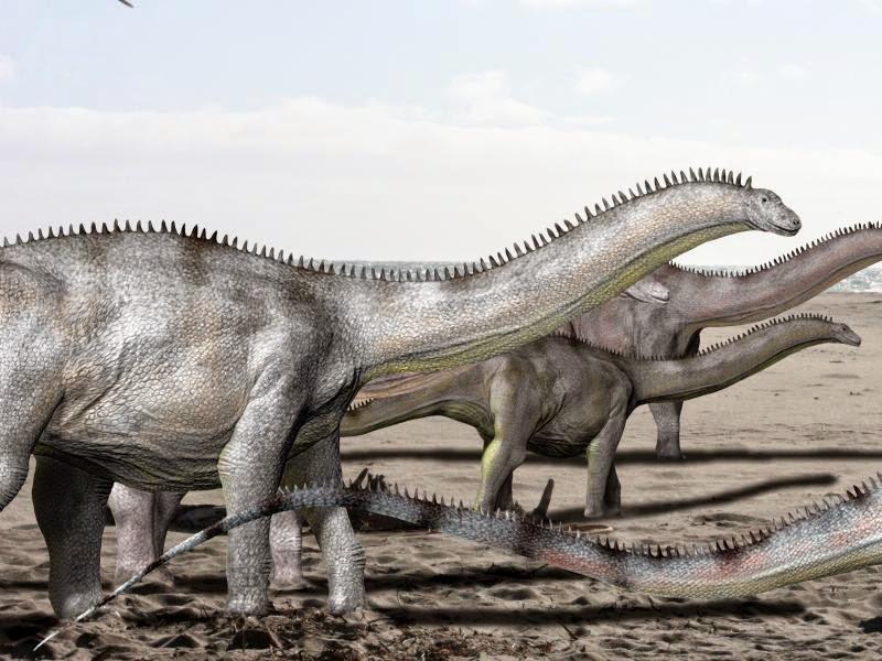 El cambio climático pudo ayudar a los dinosaurios a migrar de Sudamérica al Polo Norte