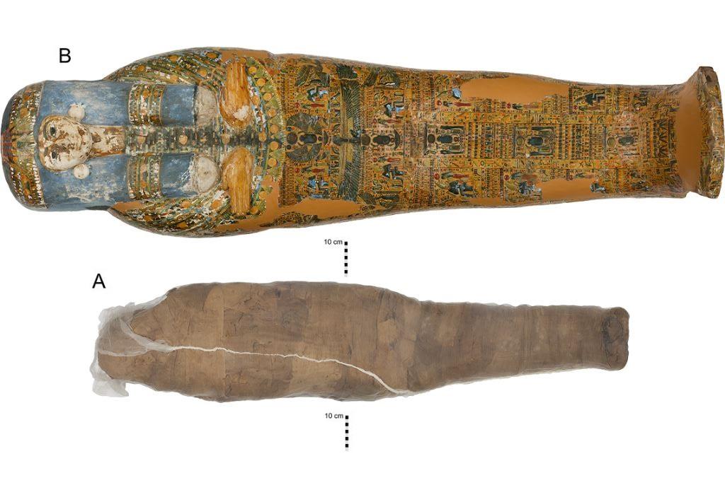 Científicos descifran la complicada historia de una misteriosa momia egipcia