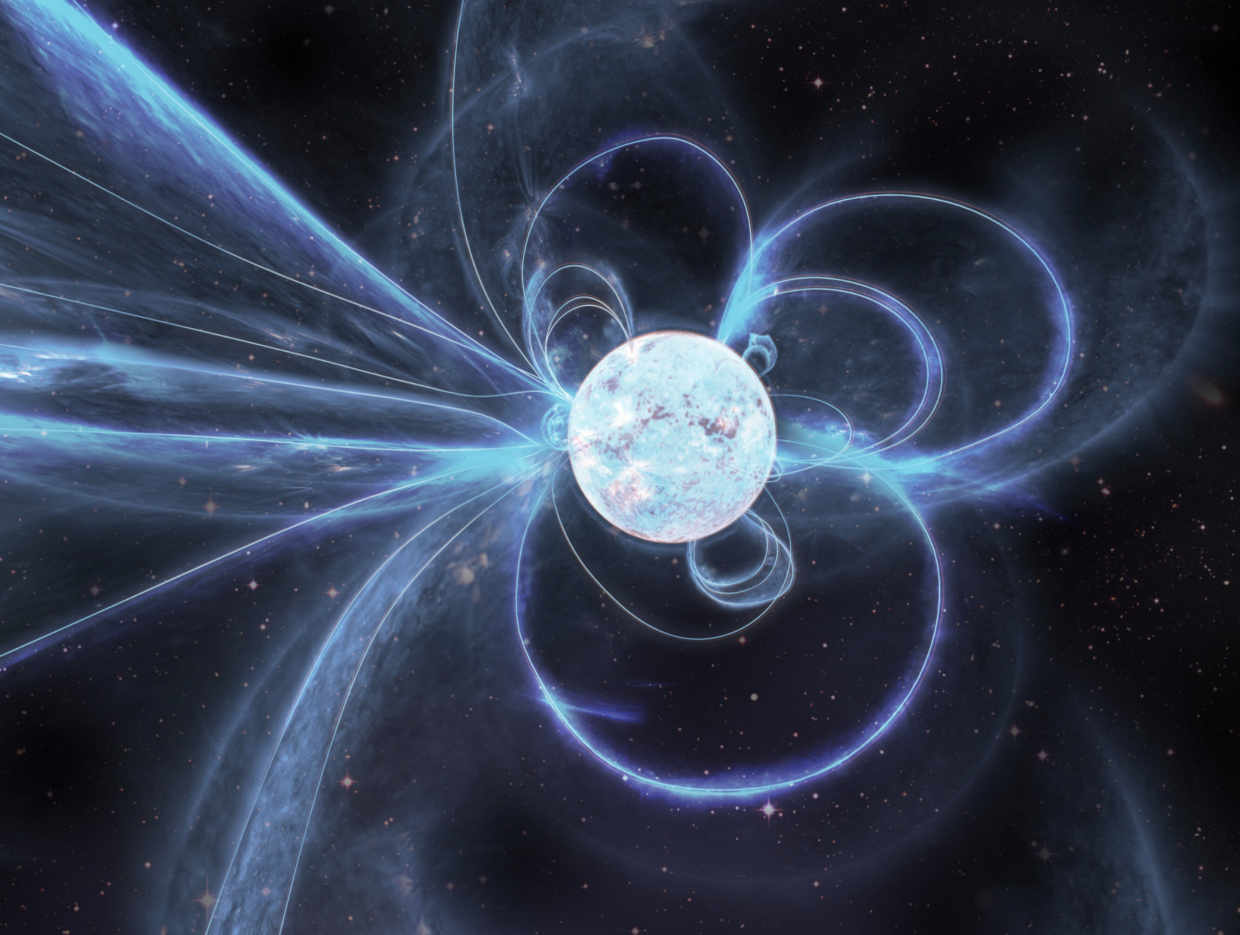 Astrónomos detectan actividad extraña proveniente de un magnetar recién descubierto
