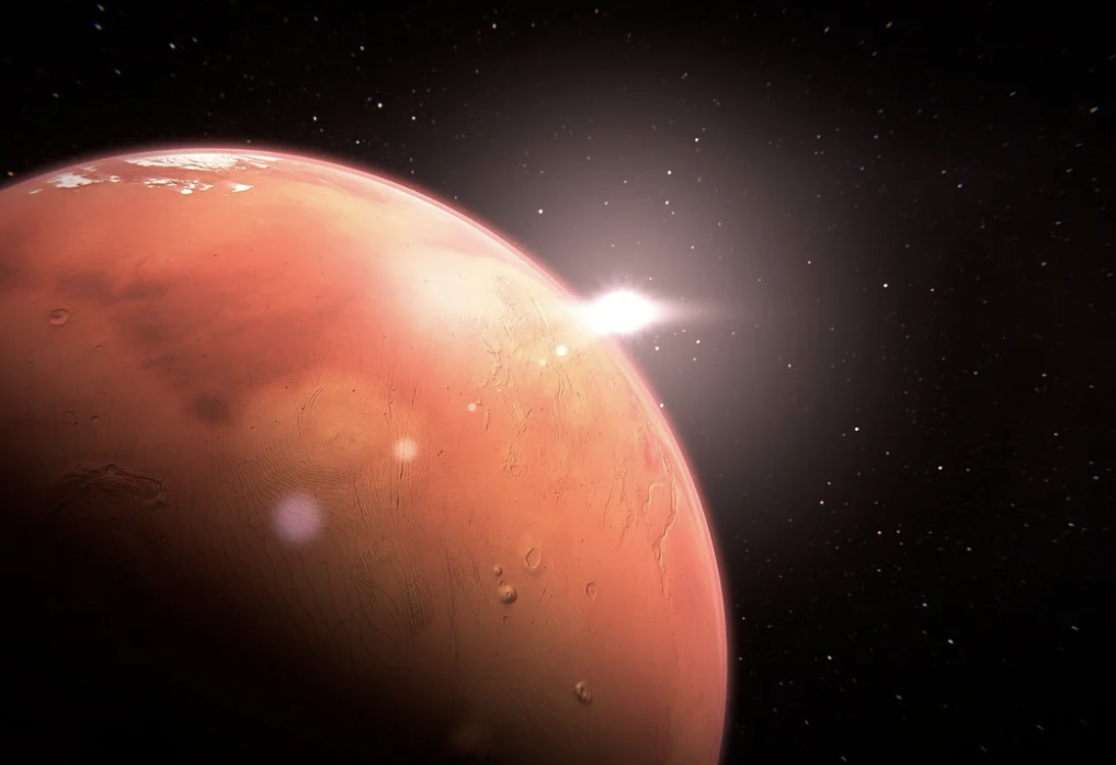 ¡Feliz Año Nuevo, Marte!