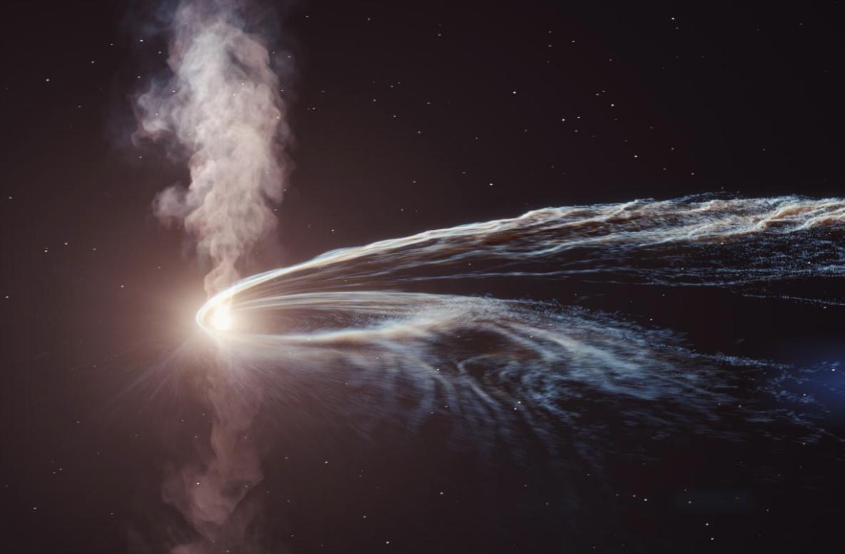 Científicos detectan un neutrino proveniente de una estrella desgarrada
