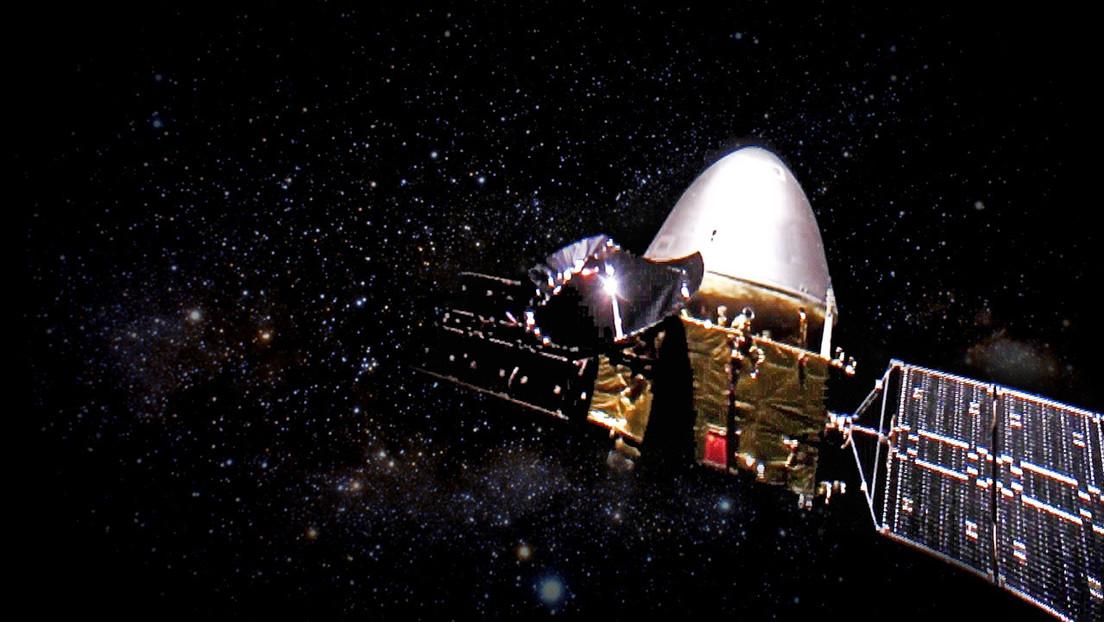 China coloca con éxito su nave Tianwen-1 en órbita alrededor de Marte