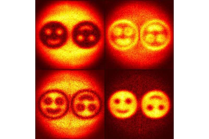 Físicos desarrollan un holograma «cuántico» usando fotones entrelazados