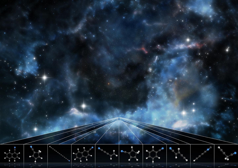 Científicos identifican entre las estrellas moléculas nunca antes vistas en el espacio