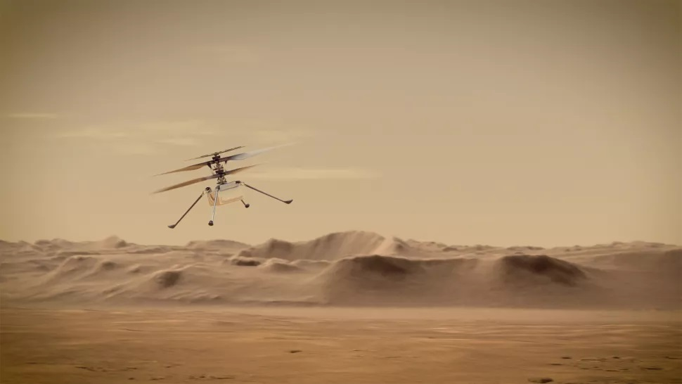 Ingenuity: el helicóptero marciano de la NASA ya tiene fecha para realizar su primer vuelo