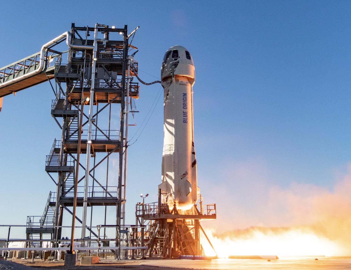 La NASA y Blue Origin se asocian para simular la gravedad lunar en el cohete New Shepard