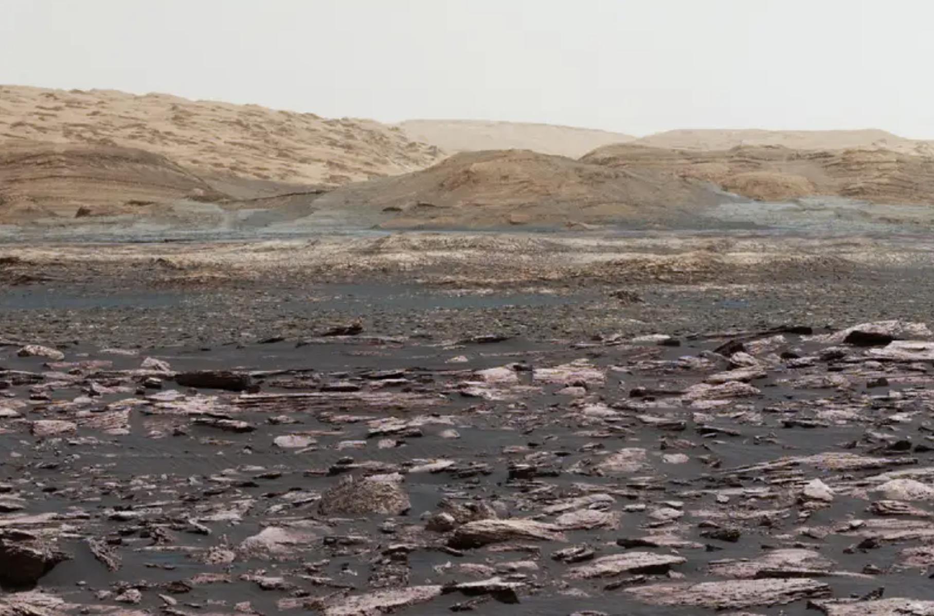 Los desaparecidos océanos de Marte estarían ocultos bajo la superficie