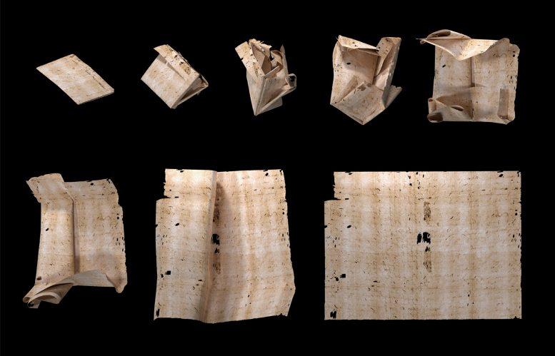 Científicos «abren virtualmente» una carta sellada de hace 300 años y logran leerla