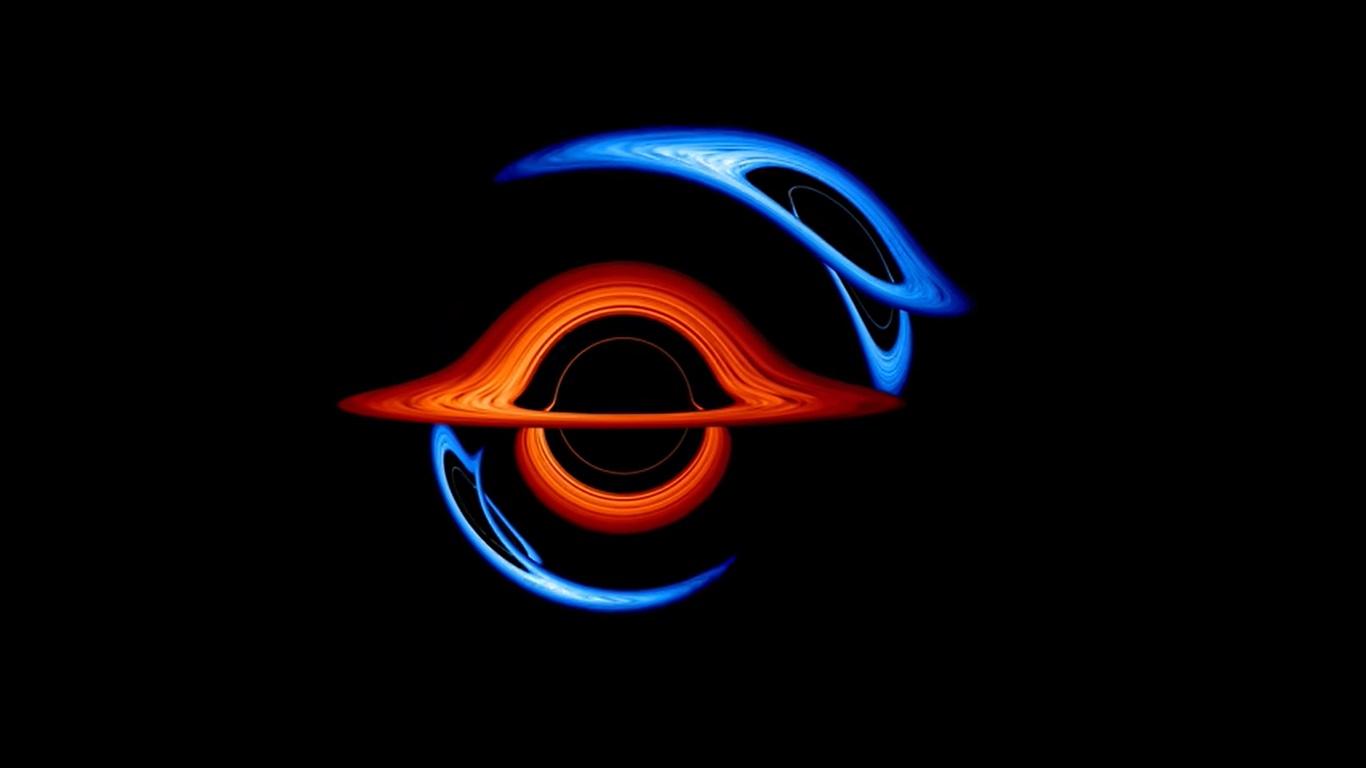 Impresionante visualización muestra la deformación de los agujeros negros binarios [VIDEO]