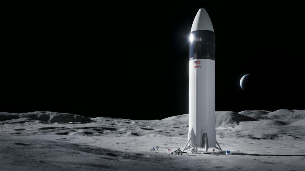 SpaceX gana contrato para llevar astronautas de la NASA a la Luna
