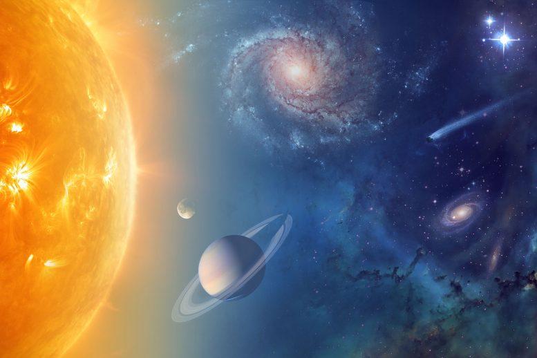 Científicos reconstruyen la arquitectura original del sistema solar
