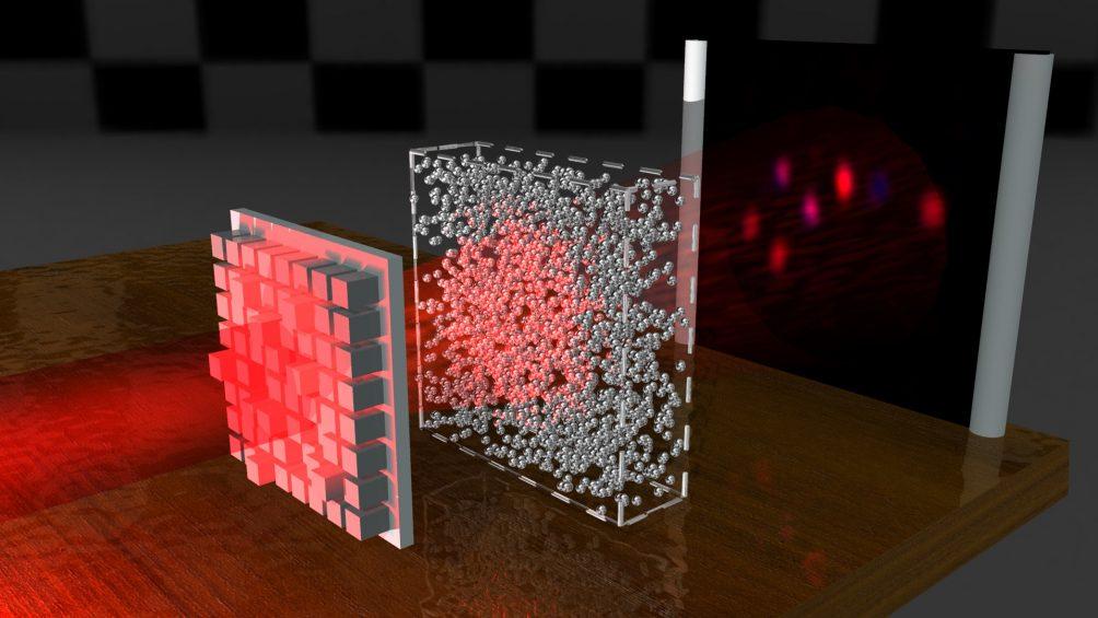 """Científicos crean un """"haz de luz indestructible"""" capaz de penetrar incluso materiales opacos"""
