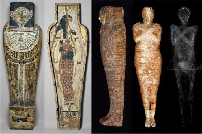 Arqueólogos descubren la primera momia egipcia de una mujer embarazada