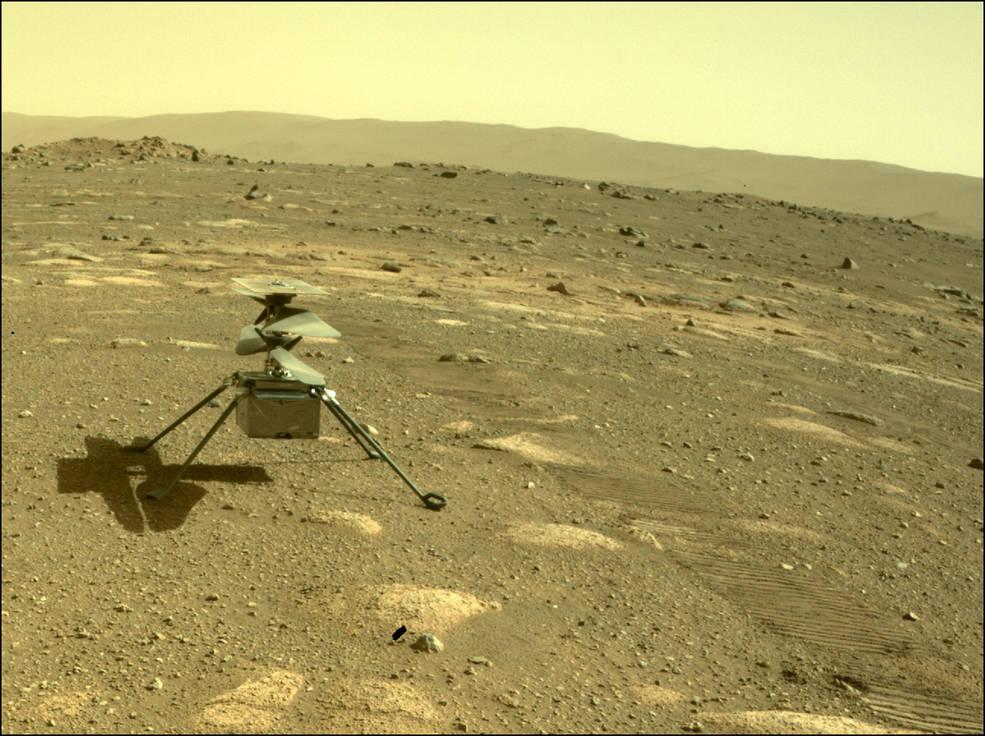 Ingenuity sobrevive la primera noche en Marte y está listo para su primer histórico vuelo