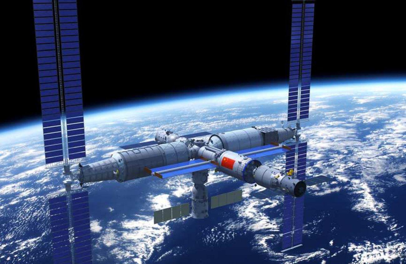 China lanzó al espacio el módulo principal de su nueva estación espacial