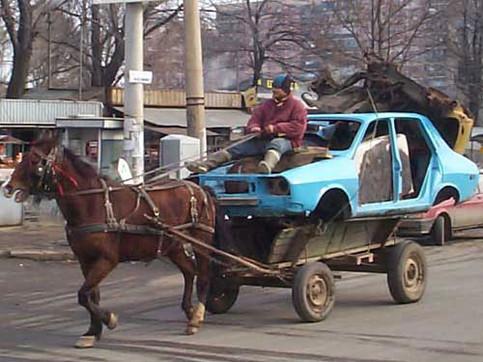 ¿Cuántos caballos de fuerza tiene un caballo?