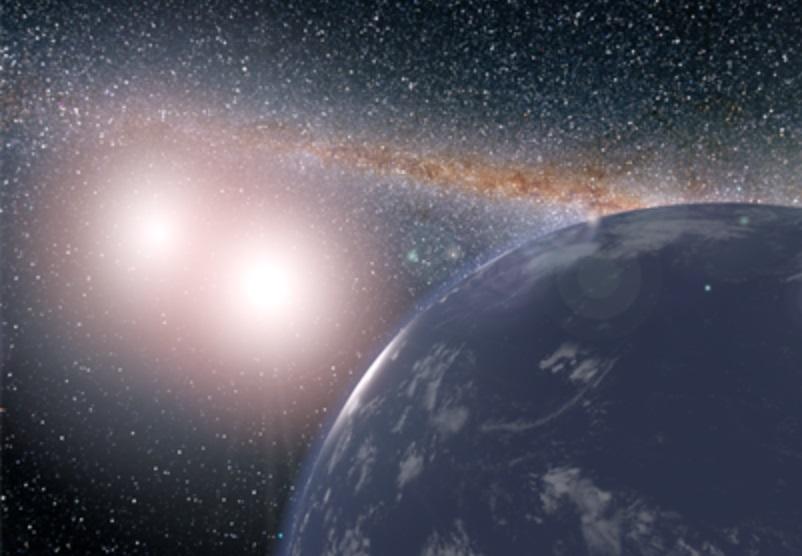 Estudio encuentra cinco exoplanetas en sistemas binarios que podrían albergar vida