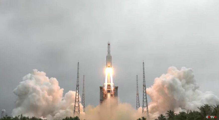 Restos del descontrolado cohete chino caerán muy probablemente el 9 de mayo