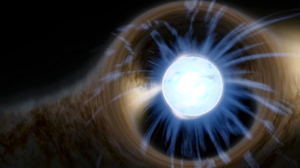 Finalmente sabemos cómo el plasma explota a través de los campos magnéticos de las estrellas de neutrones