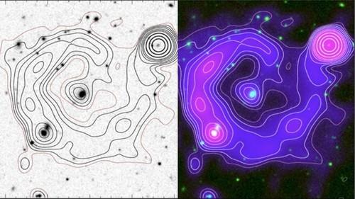 Científicos detectan otro misterioso círculo en el espacio extragaláctico
