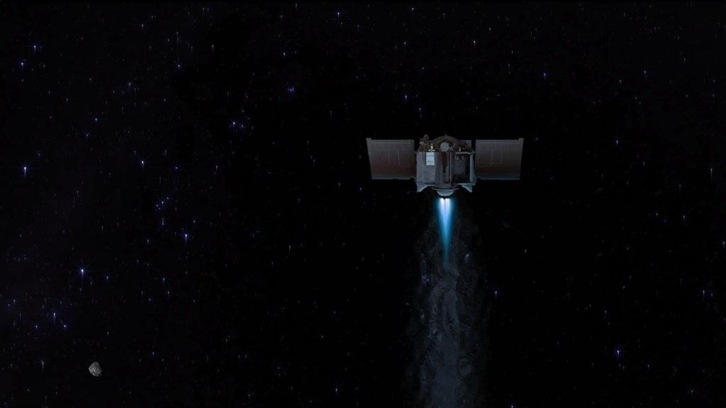 OSIRIS-REx dejó el asteroide Bennu y ya viene de regreso a la Tierra