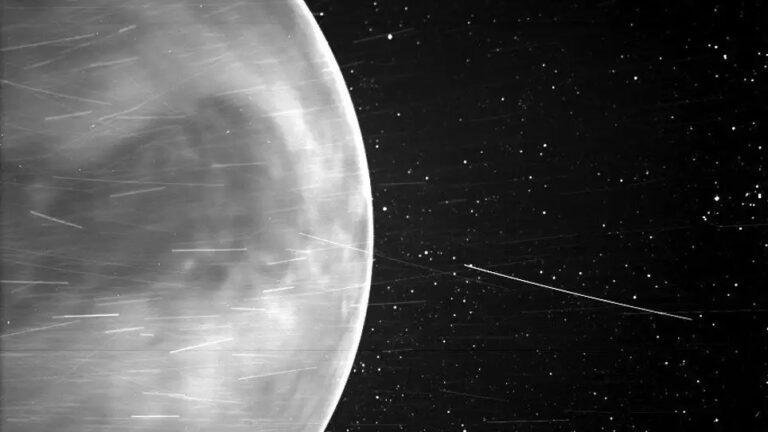 Sonda solar Parker detecta una señal de radio de baja frecuencia en la atmósfera de Venus