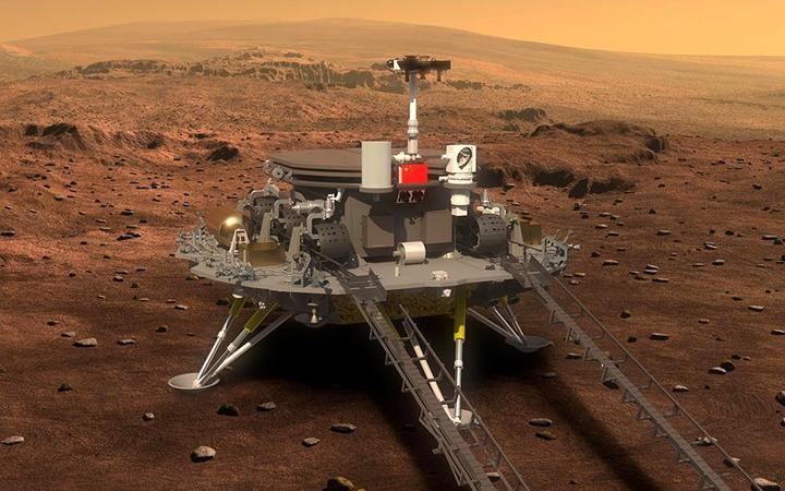 China se convierte en el segundo país en aterrizar un rover en Marte