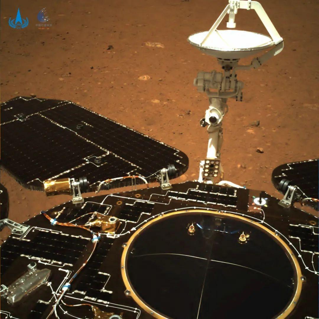 Zhurong: China envía sus primeras imágenes desde la superficie de Marte