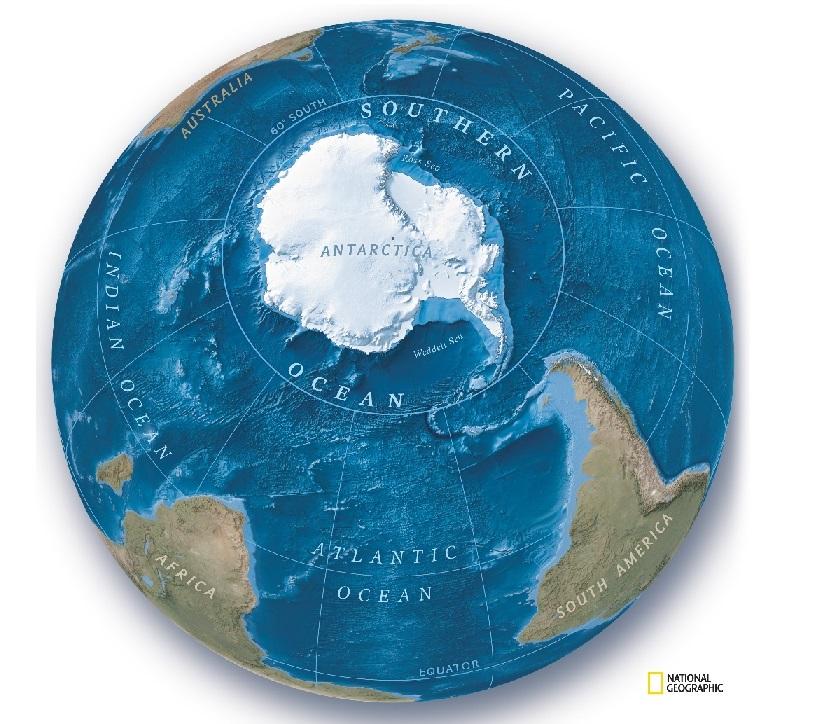 Ahora tenemos un nuevo océano: el Océano Austral