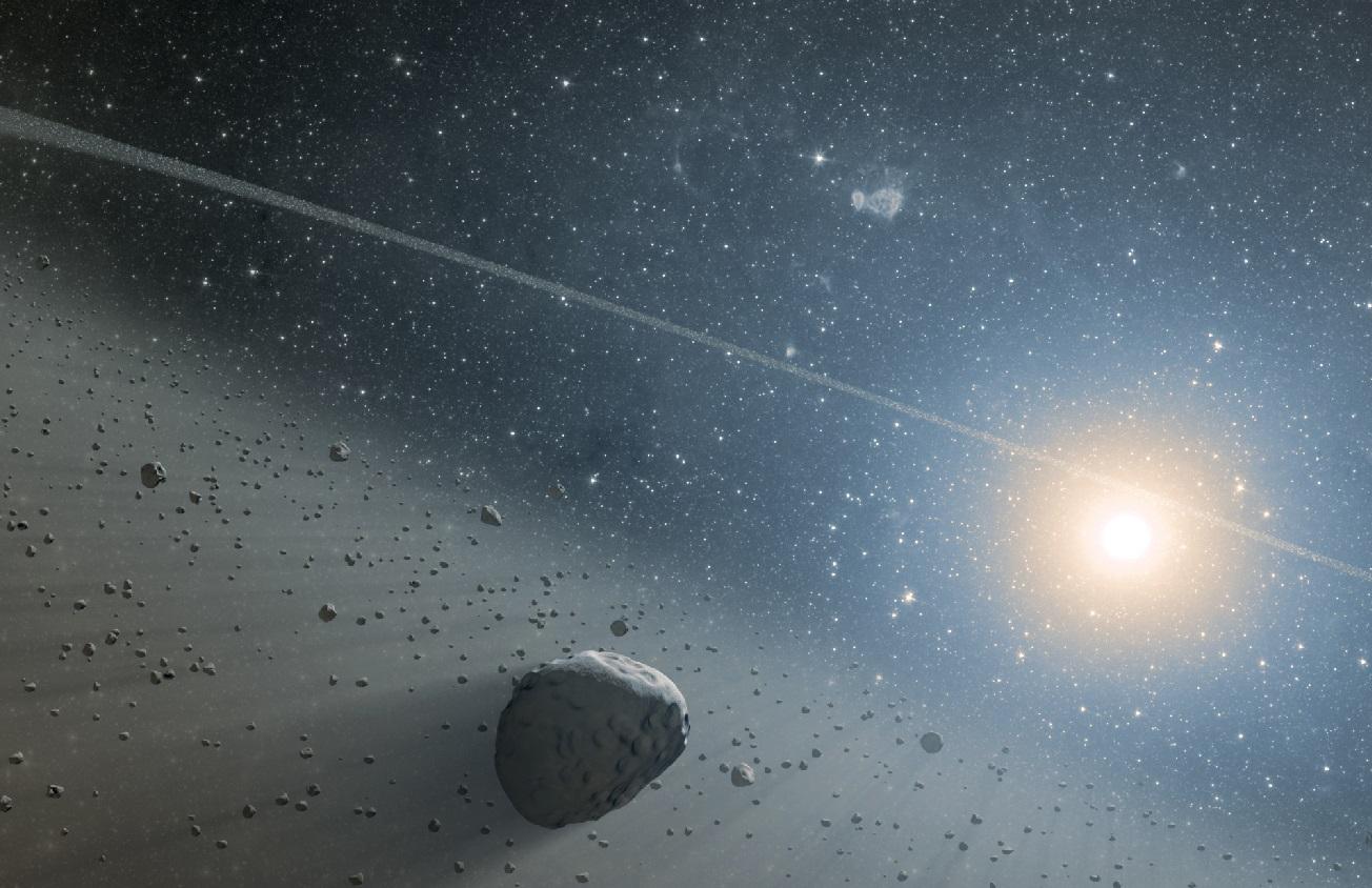 Un gigantesco objeto transneptuniano, candidato a «megacometa», está entrando en nuestro Sistema Solar