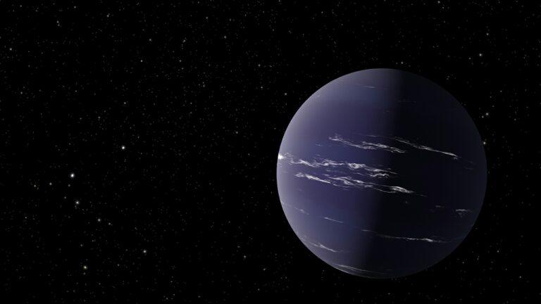 Astrónomos descubren un exoplaneta parecido a Neptuno que podría tener nubes de agua