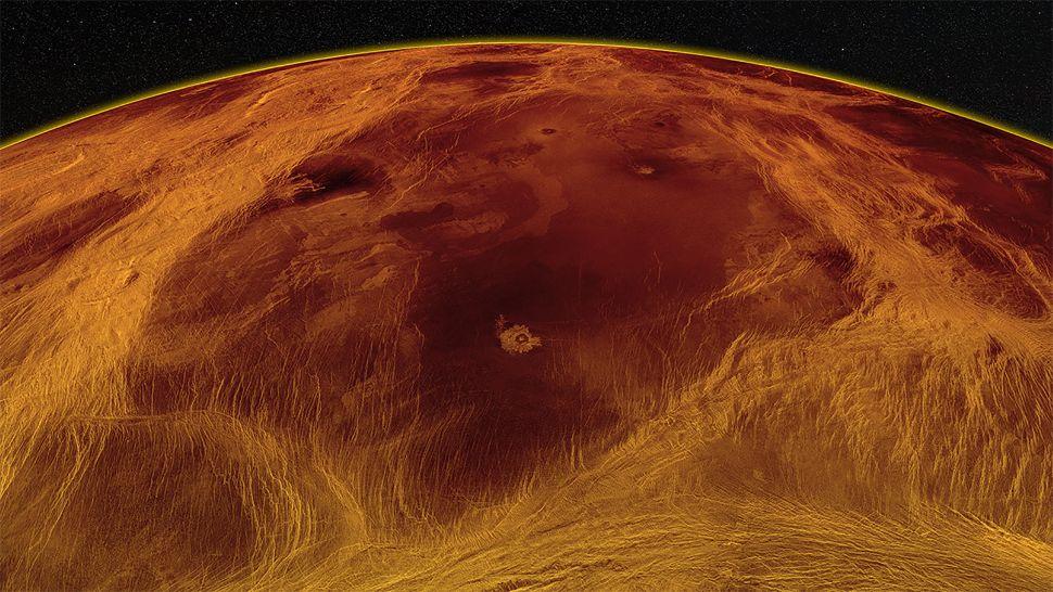 La Tierra y Venus tendrían algunas cosas en común: un manto y actividad geológica
