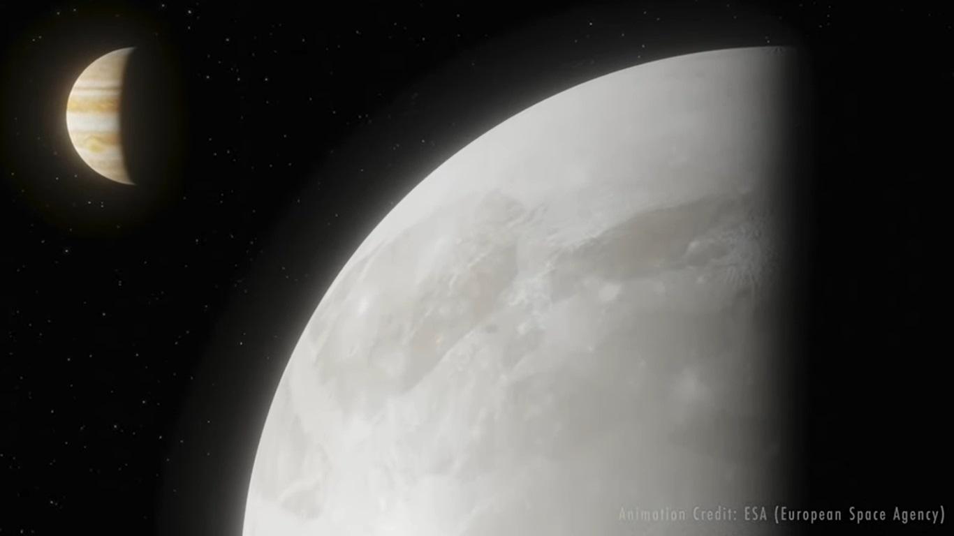 Astrónomos confirman la presencia de vapor de agua en la atmósfera de Ganímedes