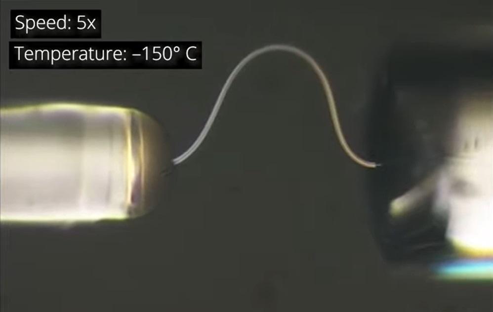 Científicos han creado una nueva forma de hielo flexible [VIDEO]