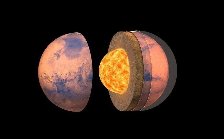 Tres estudios detallan por primera vez la estructura interna de Marte