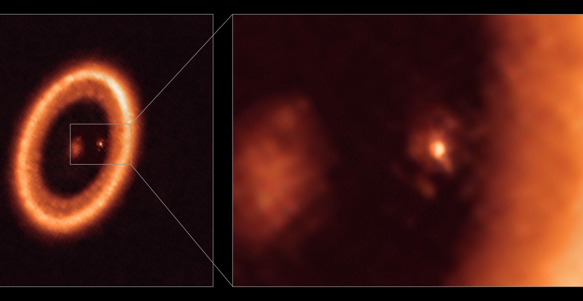 Astrónomos detectan por primera vez una supuesta luna en formación alrededor de un exoplaneta
