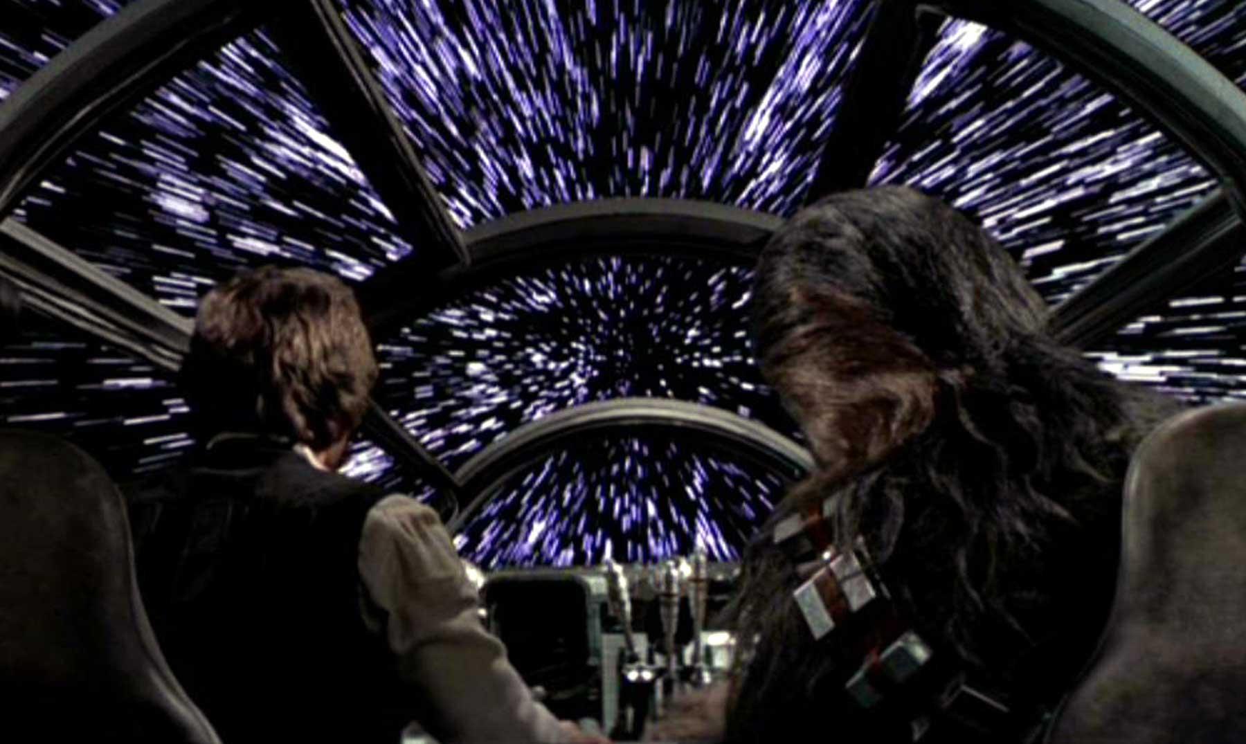 ¿Qué podrías ver si viajaras a la velocidad de la luz?