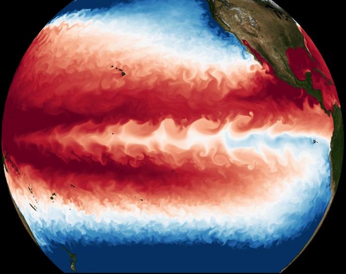 Simulación del calentamiento global revela el posible fin del ciclo de El Niño / La Niña