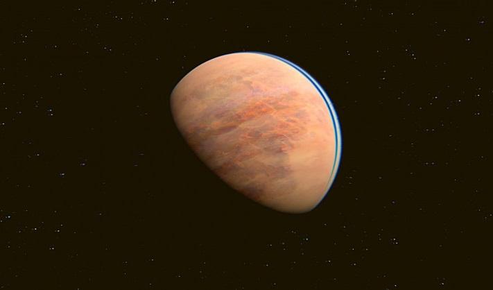 Astrónomos encuentran un exoplaneta rocoso que podría tener un océano