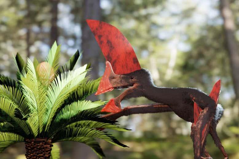 Redada policial en Brasil salva el fósil del pterosaurio más detallado descubierto hasta la fecha
