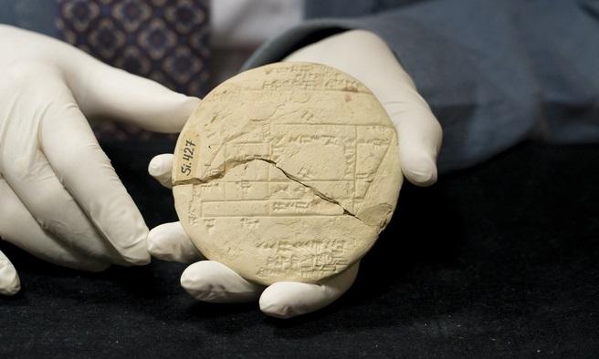 Una tablilla de arcilla muestra el ejemplo más antiguo de geometría aplicada, mil años antes que Pitágoras