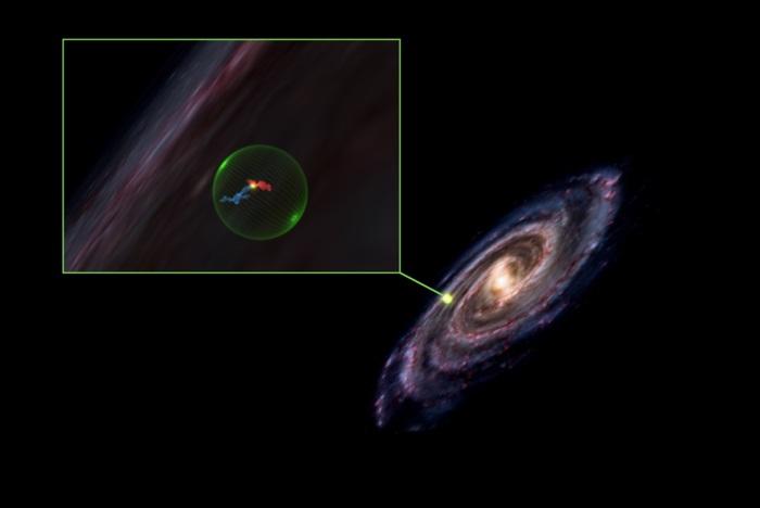 Astrónomos descubren un vacío gigante en medio de nuestra galaxia