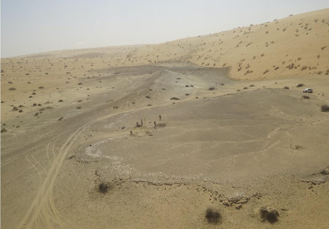 El variante clima de Arabia atrajo varias veces a los humanos antiguos durante 400 mil años